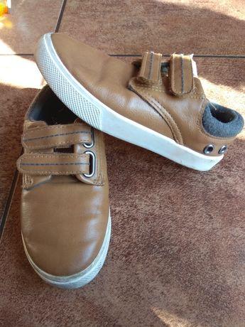 Eleganckie buty dla chłopca rozmiar 27 adidasy na rzepy