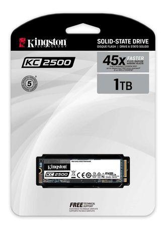 НОВЫЙ! SSD Накопитель Kingston KC2500 1TB (SKC2500M8/1000G)