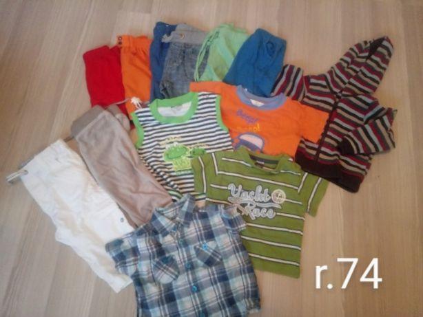 Ubranka chłopięce r 74