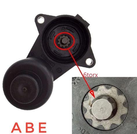 Моторчик ручника суппорта VW B6, B7, CC, Tiguan, Sharan на 6 зубчиков