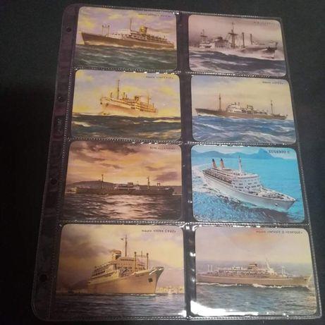 14 calendários Navios