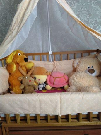 Децкая кроватка в хорошем состоянии