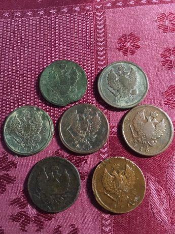 Набор монет по 2 копейки
