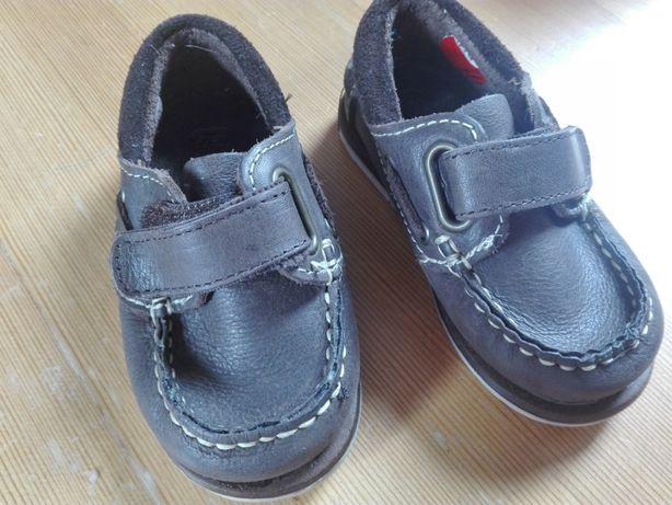 Buty buciki mokasyny Zara skóra r. 20 jak nowe