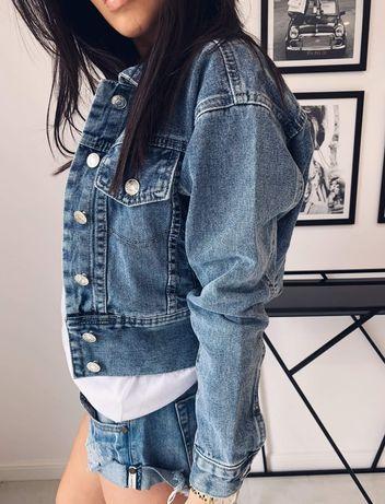 Kurtka jeansowa damska hit 2019 jesień