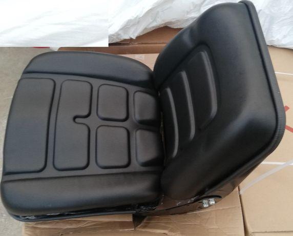 Banco para empilhador mini giratoria dumper com regulaçao das costas