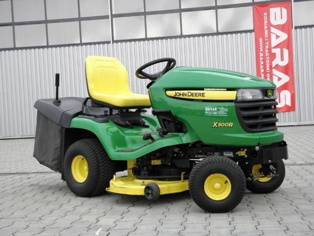 Traktorek John Deere X 300 R (110703) - Baras