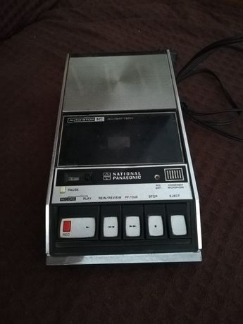 Gravador de Cassetes National Panasonic