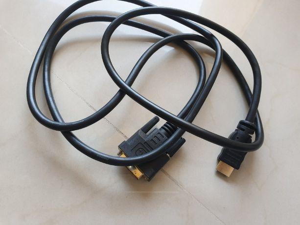 Przejściówka KABEL HDMI - DVI 170 cm