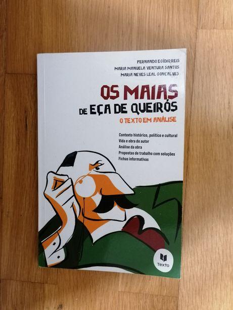 Os Maias de Eça de Queiroz. O texto em análise.