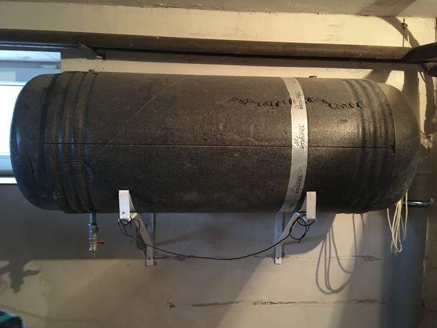 Boiler bojler wymiennik C.W. U z płaszczem 140l