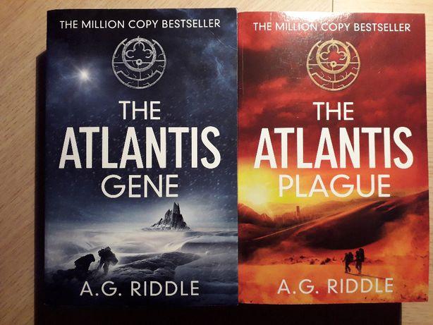 'The Atlantis Gene' & 'The Atlantis Plague' de A. G. Riddle