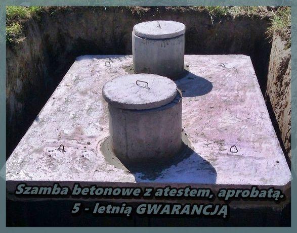Zbiornik Szambo Betonowe Na Deszczówkę Pojemnik Wodę Gnojówkę