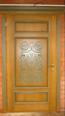 двери деревянные наружные и внутренние