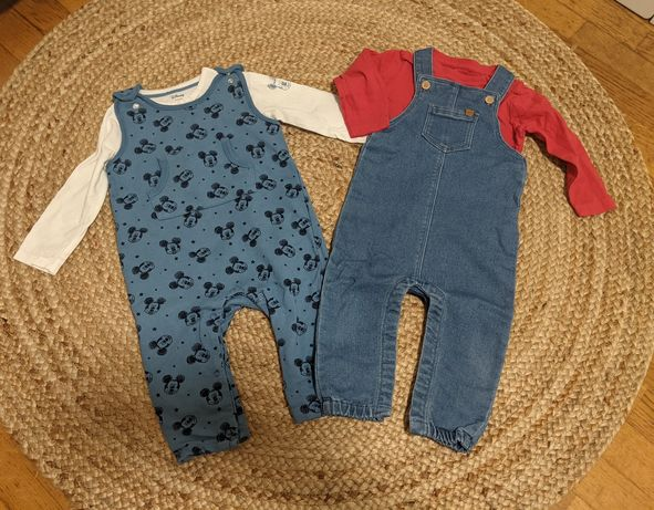 Lote de roupa bebé 6-9 meses