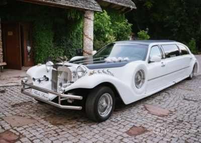 Samochód, Auto do ślubu Limuzyna Lincoln Excalibur