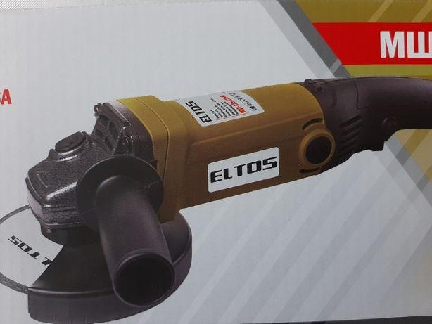 Болгарка, угловая шлифмашина ELTOS МШУ-125-1250 на 125 диск Германия