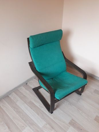 fotel IKEA POÄNG + poduszka