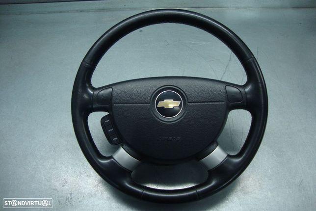 Volante com comandos e airbag Chevrolet Aveo/2011