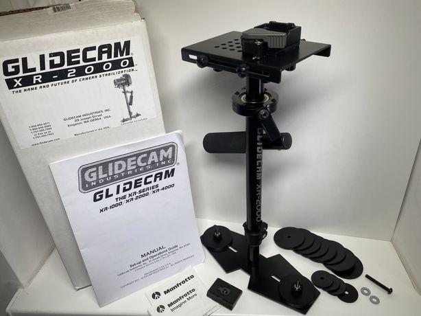Glidecam XR-2000 stabilizator flycam + płytka Manfrotto