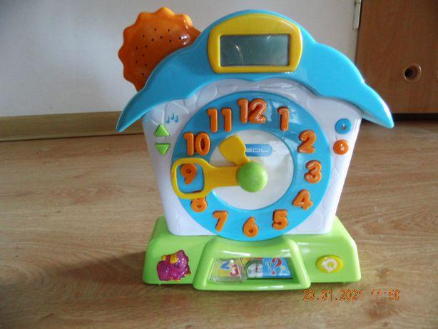 zegar zabawka do nauki godzin