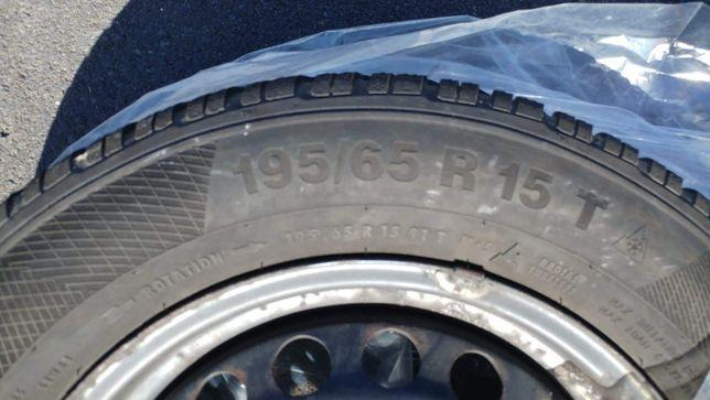 Opony z felgami seat volkswagen skoda - zimowe
