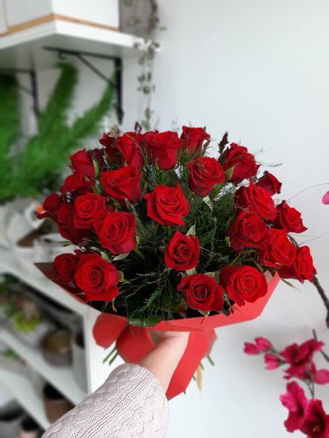 poczta kwiatowa pakowanie prezentów flowerboxy bukiety na dzień kob`ie