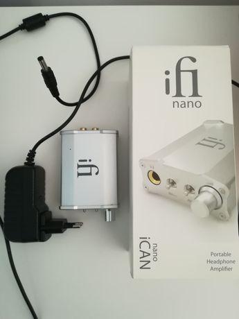 Przenośny wzmacniacz słuchawkowy ifi ican