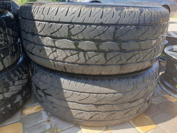 Лето 2 шт Dunlop SP Sport 5000M 275/55/R20 111H остаток 5.5 мм.