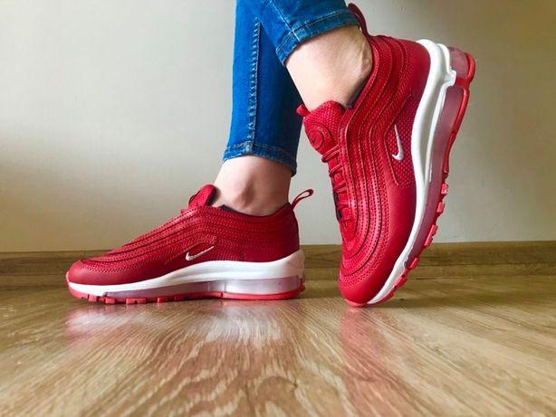 Nike Air Max 97. Rozmiar 39. Kolor czerwony. Modne