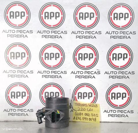 Medidor de massa de ar Mercedes W203 220 CDI referência  0281002535, A6460940048.