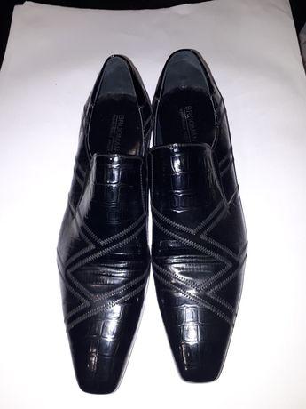 Pantofle męskie skóra rozmiar 45