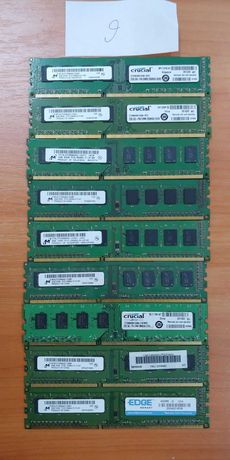 Оперативная память(ОЗУ) DIMM DDR 3 2gb(2гб каждая планка)