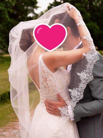 Suknia ślubna na sprzedaż w stylu boho