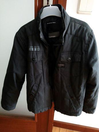 """casaco """"Tifosi"""" 7/8 anos"""