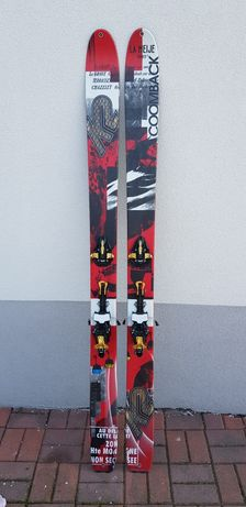 Narty skiturowe k2 coomback 114 184