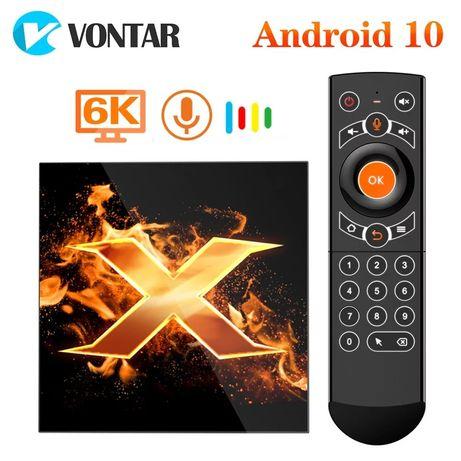 Tv box Vontar X1 2/16 4/32 тв бокс Android
