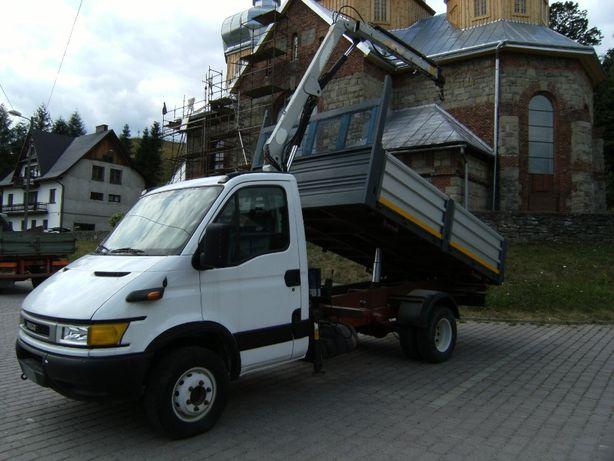 IVECO DAILY hds wywrot dzwig wywrotka 3 stonna Renault Mascott
