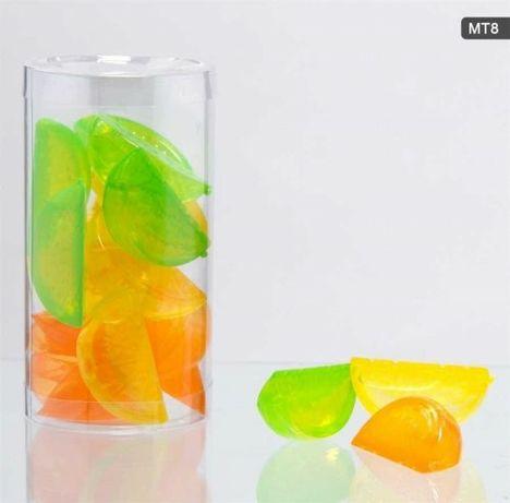 Kostki lodu.  Cytrynki