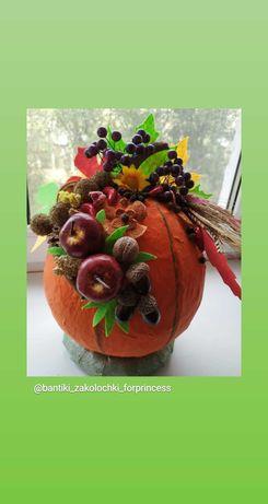 Осенний декор, поделки в садик, школу