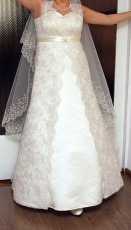 Весільня сукня і фата