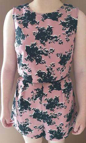 Miss Selfridge śliczny kombinezon kwiaty - rozmiar XS