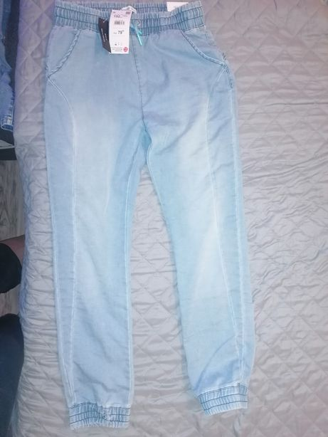 Spodnie Reserved joggery 152 nowe