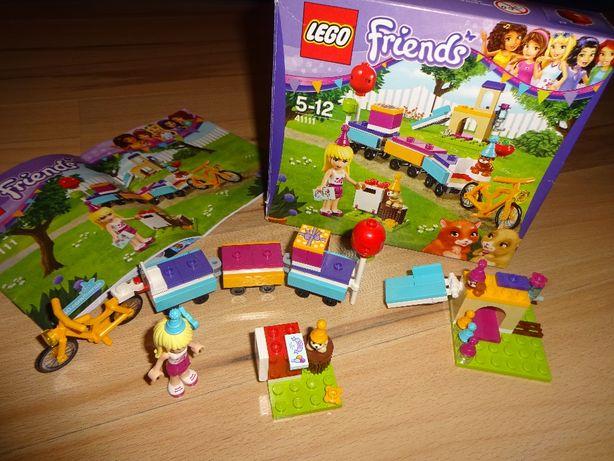 LEGO Friens 41111 imprezowy pociąg KLOCKI 5-12