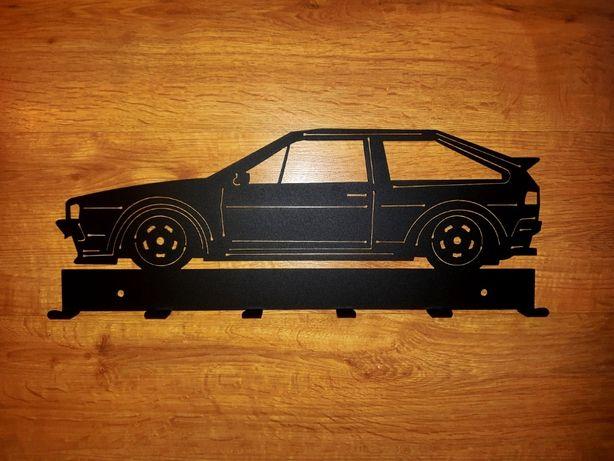 Wieszak ścienny VW Scirocco mk2, stalowy, solidny, 50cm