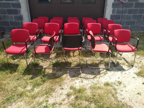Krzesła konferencyjne recepcyjne Profim Bit okazja