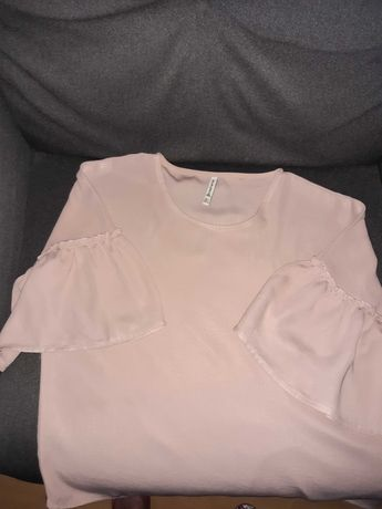 Bluzka Stradivarius roz. S pudrowy roz