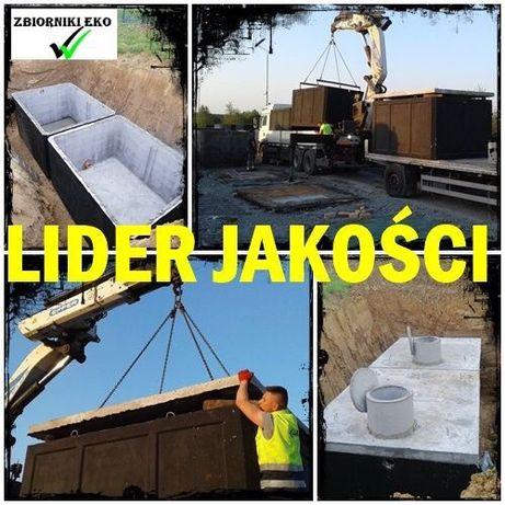 Szambo 8m3 zbiornik na deszczówkę 8000 litrów szamba betonowe 8 tyś