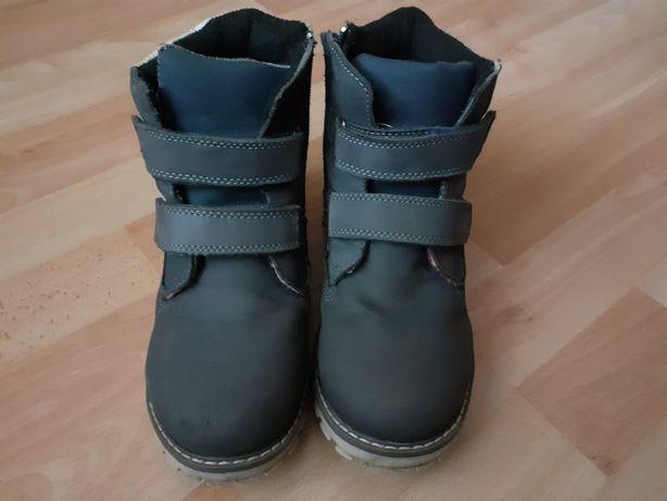 Ботинки деми утеплённые 35 размер 22,5 см