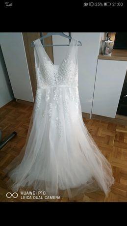 Suknia ślubna r. L
